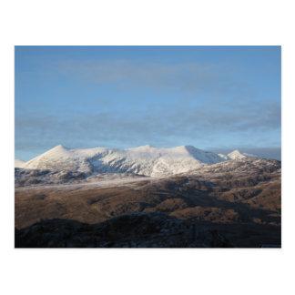 Montañas irlandesas tarjeta postal