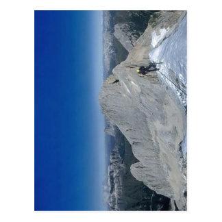 Montañas Italia de Marmolada). Fotógrafo: Fuente d Tarjeta Postal