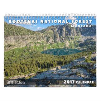 Montana's Kootenai National Forest - 2017 Calendar