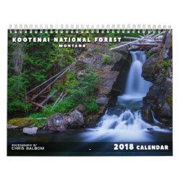 Montana's Kootenai National Forest - 2018 Calendar