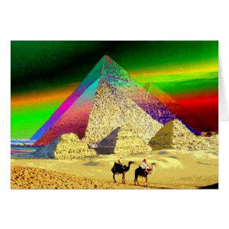 Montañas mágicas - tarjeta