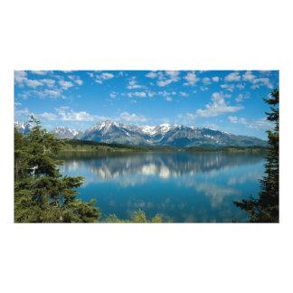 Montañas magníficas de Teton - fotografía salvaje Fotografía