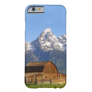 Montañas magníficas de Teton Funda De iPhone 6 Barely There