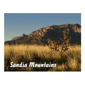 Montañas majestuosas de Sandia, Albuquerque Tarjetas Postales