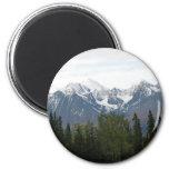 Montañas majestuosas del botón de la magnificencia imanes