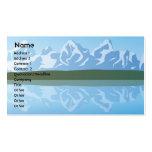 Montañas - negocio tarjeta de visita