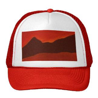 Montañas negras gorras de camionero