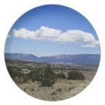 Montañas New México de Capitan Gap Platos De Comidas
