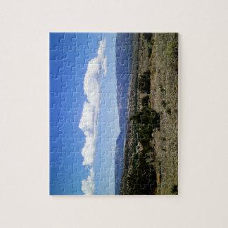 Montañas New México de Capitan Gap Puzzles Con Fotos