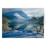 Montañas occidentales Escocia de Ballachulish Felicitaciones