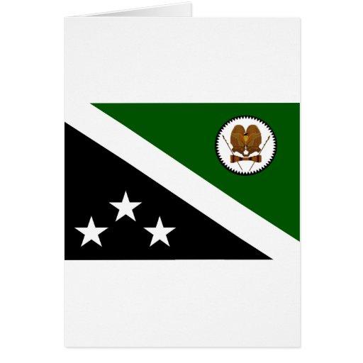 Montañas occidentales, Papúa Nueva Guinea Tarjeta De Felicitación