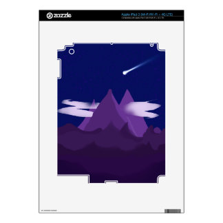 Montañas Pegatina Skin Para iPad 3