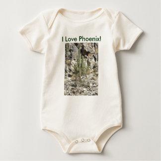 Montañas Perserve del bebé T/Phoenix Enteritos