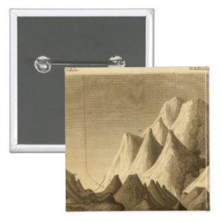 Montañas Pin Cuadrada 5 Cm