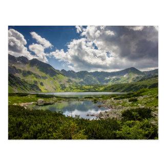 Montañas polacas de Tatra Tarjetas Postales