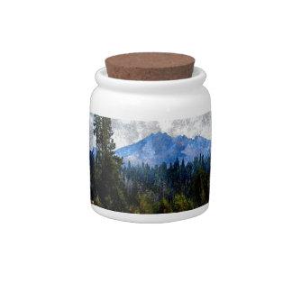 Montañas prado, Oregon de la cascada Jarra Para Caramelo