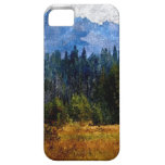 Montañas prado, Oregon de la cascada iPhone 5 Case-Mate Cárcasa