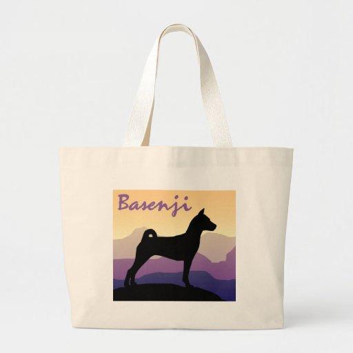 Montañas púrpuras Basenji Bolsa