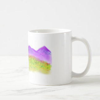 Montañas púrpuras taza clásica