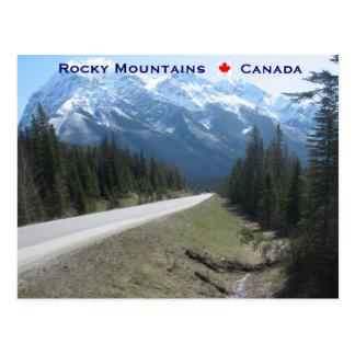 Montañas rocosas Canadá Postales