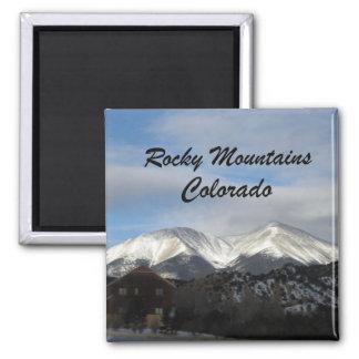 Montañas rocosas Colorado Iman Para Frigorífico