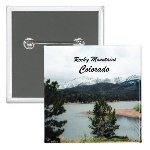 Montañas rocosas, Colorado Pin