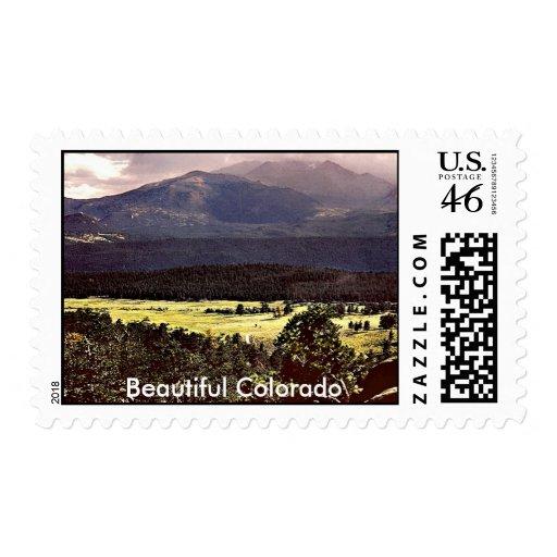 Montañas rocosas de Colorado, Colorado hermoso Sello