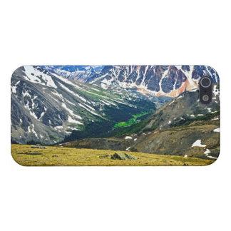 Montañas rocosas en el parque nacional de jaspe, iPhone 5 carcasas