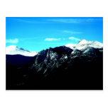 Montañas rocosas hermosas en Colorado Tarjeta Postal