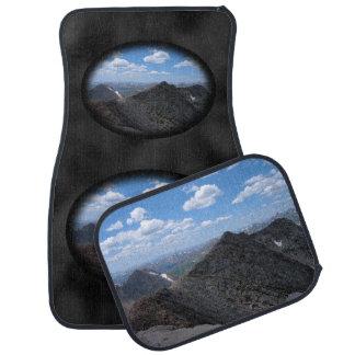Montañas rocosas Moonscape de Colorado Alfombrilla De Auto