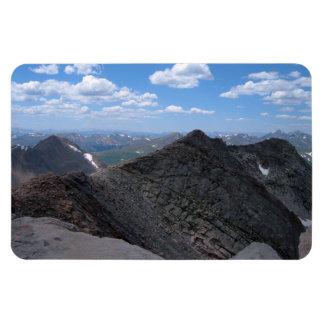 Montañas rocosas Moonscape de Colorado Imán