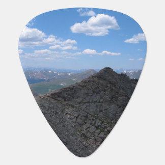Montañas rocosas Moonscape de Colorado Púa De Guitarra
