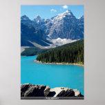 Montañas rocosas poster