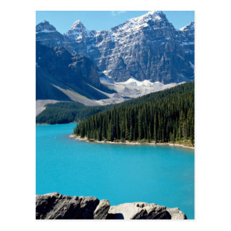 Montañas rocosas postal