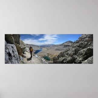 Montañas rusas 2 del paso del silvicultor - rastro póster