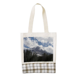 Montañas suizas bolsa tote zazzle HEART