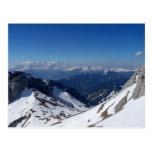 Montañas suizas postales