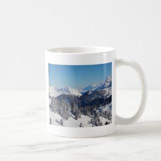 Montañas suizas tazas