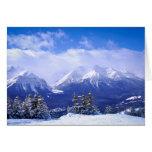 Montañas Tarjeta Pequeña