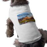 Montañas y Badlands NP Dakota del Sur del cielo Camisetas De Perrito