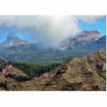 Montañas y bosques de las nubes esculturas fotográficas