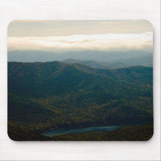 Montañas y río negros de Swannanoa Alfombrilla De Ratones