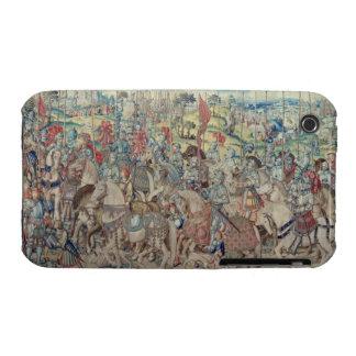 Montando a los jinetes, de la tapicería de 'David iPhone 3 Carcasas