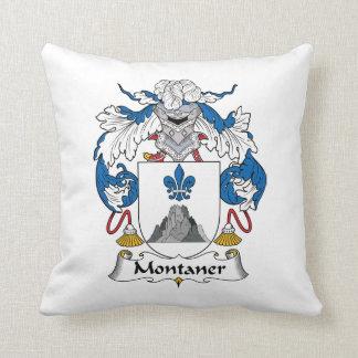 Montaner Family Crest Pillow