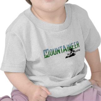 Montañés en el entrenamiento camiseta
