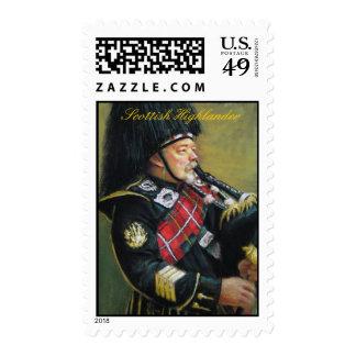 Montañés escocés sello
