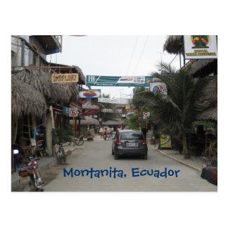 Montanita, Ecuador Postcard
