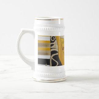 Montante de la energía tazas de café