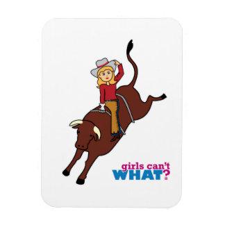 Montar a caballo de Bull Iman
