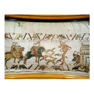 Montar a caballo de Harold del conde con sus cabal Postal